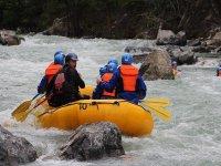 between rapids