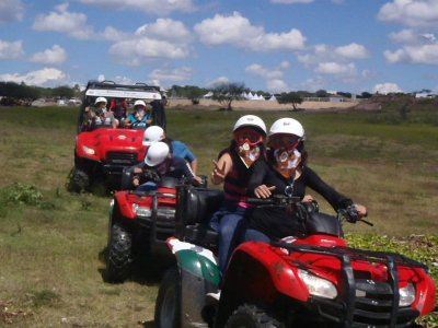 3h two-seater ATV rental in San Miguel de Allende