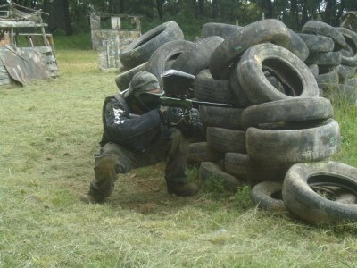 Paintball with 200 paint capsules , Cuernavaca