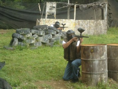 100 paintballs in Cuerna