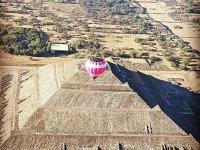 Vuela en Teotihuacán