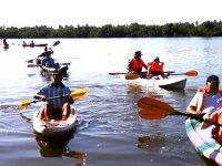 Kayak por la laguna