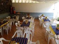 Salon tipo terraza en Moctezuma