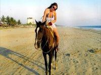 Cbalgando por la arena