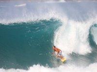 Roberto salinas en la ola