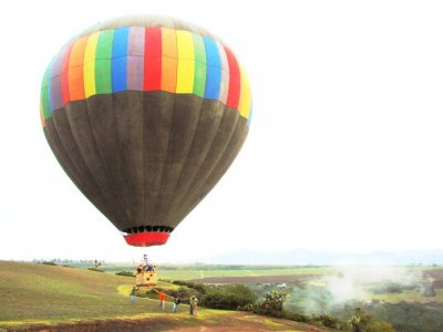 Balloon flight and adventure with acommodation