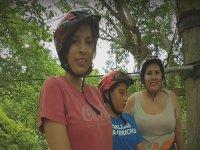 Canopy con la familia