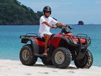 ATV por la playa