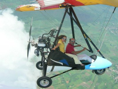 Vuelo panorámico en avión ultraligero en Jalisco