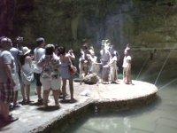 ritual en cenotes