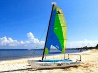 Sail in the Caribbean