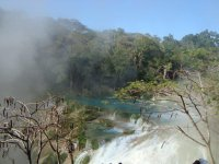 Vistas de la cascadas