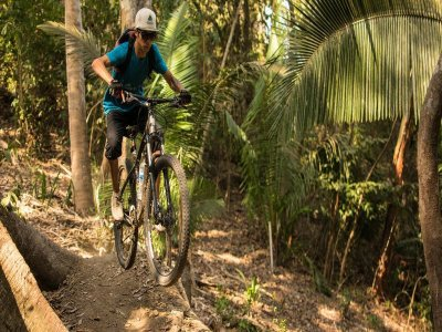 Tour básico privado Mountain Bike en Sayulita