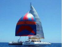 Paseo en catamaran