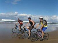 Ciclismo en la playa