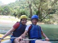 Rafting con profesionales