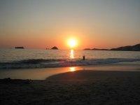 Puesta de sol en Ixtapa