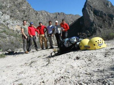 Excursión de cañonismo seco en Ciénaga de González