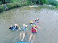 Descansando en el agua