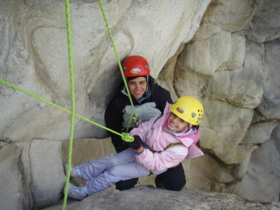 Dry canyoning in La Huasteca - Guitarritas
