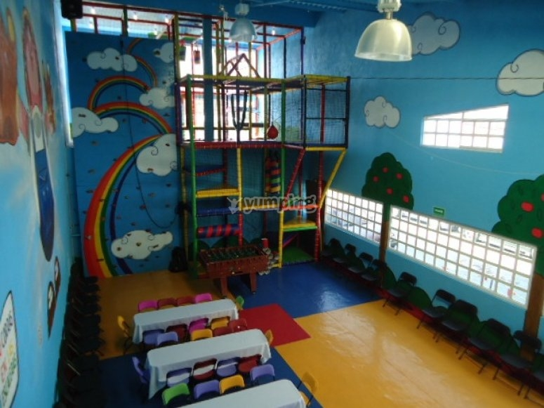 Party room for children's event