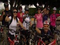 Grupo de ciclistas Puebla