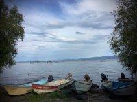 Pasea en bote por el lago de Chapala