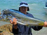 Pescando en La Paz