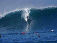 Surfer en el mar