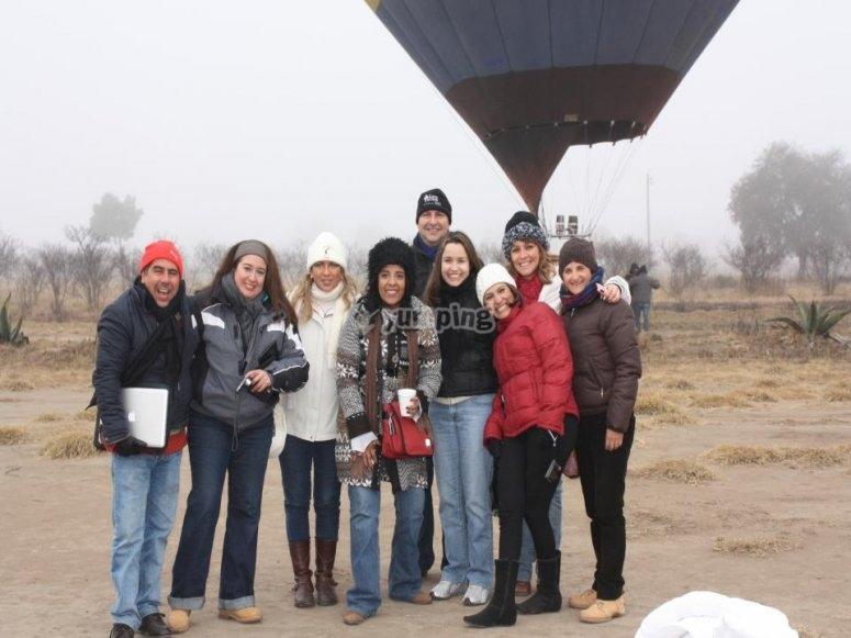 Grupos para volar