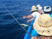 Pesca en mar abierto