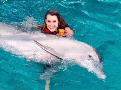 Dolphin Swim Adventure program, Riviera Maya