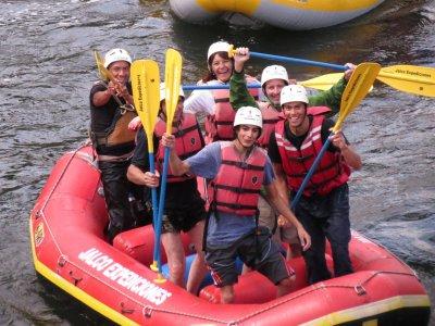 Rafting y tirolesa con hotel y comida Jalcomulco