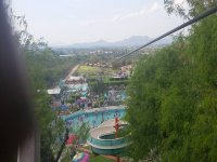 Zip line from in Pueblo Nuevo