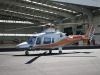 Augusta Power helicopter A109