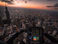 Cruza la ciudad de forma rapida en helicoptero