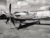 Airplane flight in Toluca