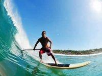 Surfer en el agua
