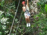 Facilities in the cenote