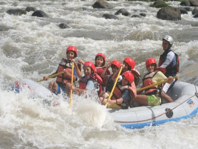 2 days rafting + lodge, Jalcomulco