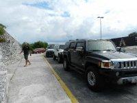 Estacionando los Hummers