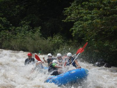 1 day rafting + abseiling + lunch in Jalcomulco