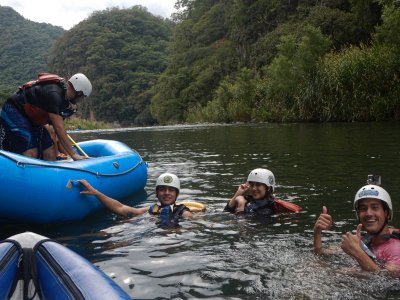 3 days pack with Rafting+rappel or zipline