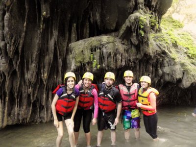 Pack Rafting + canyoning + paintaball Jalcomulco