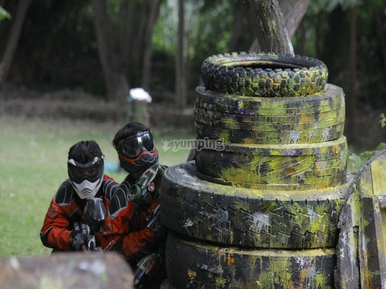 Play paintball with us