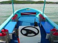 Boat from inside
