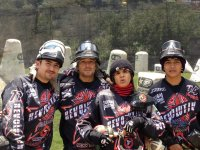 Paintball teams