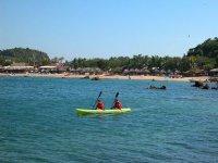 Two-seater kayaks