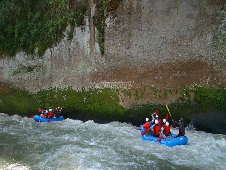 Rafting en rios