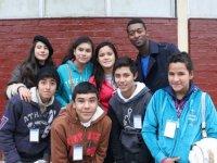 alumnos del camp